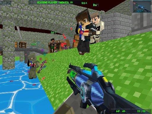 Play Gun Paintball Wars Game