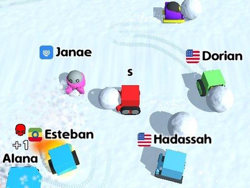 Play Snow War .io Game
