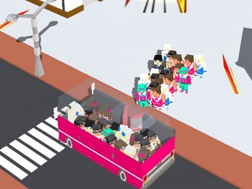 Play Overloaded Transport Bus Passagers Game