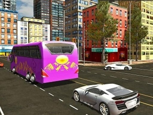 Play City Bus Offroad Driving Sim Game