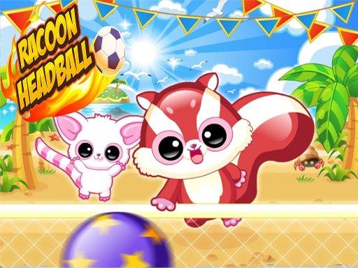 Play Racoon Headball Game