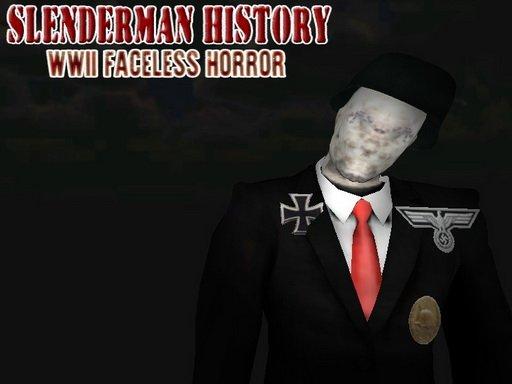 Play Slenderman History: WWII Faceless Horror Game