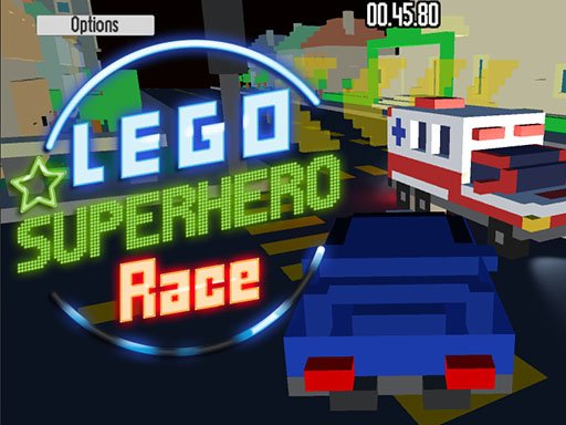 Play Lego Superhero Race Game