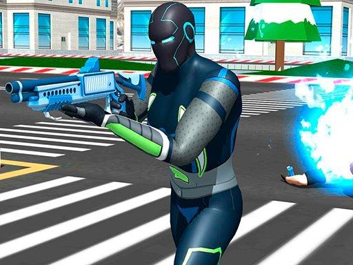 Play Punch Superhero Game