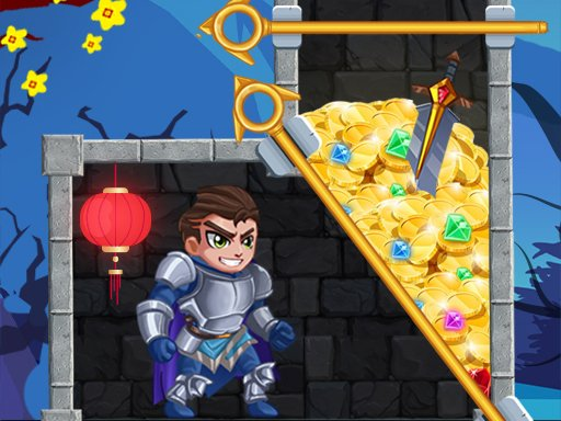 Play Rescue Hero : Pull the Pin Game