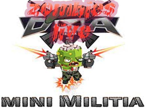 Play Zombies Mini Militia Live Game