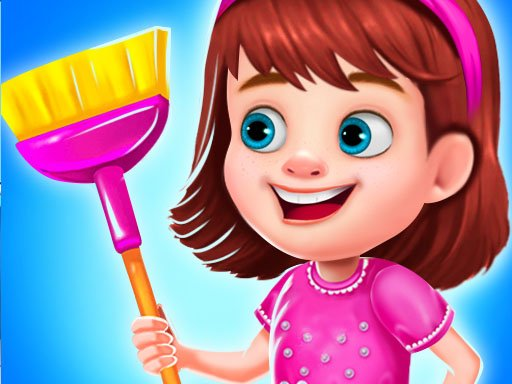 Play Princess Messy House Cleaning Game