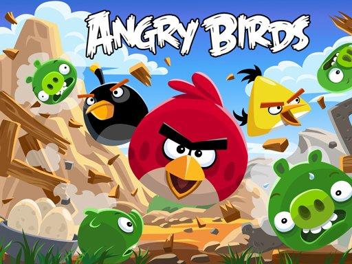 Play Angry Bird Jungle Game