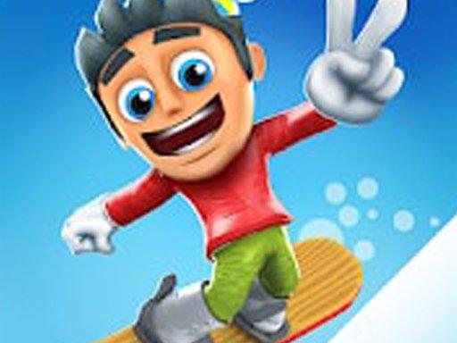 Play Snowy Skate: Snowboard Game