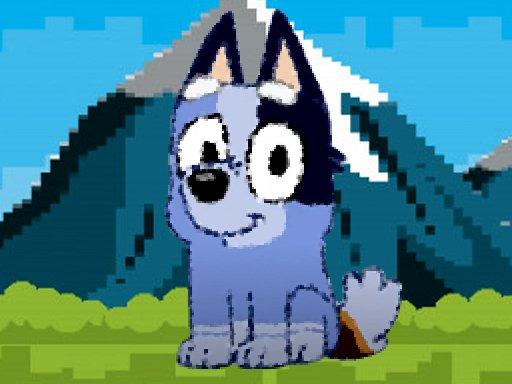Play Bluey Dog Pixal Game