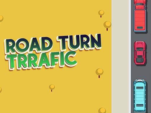 Play Road Turn Trrafic Game