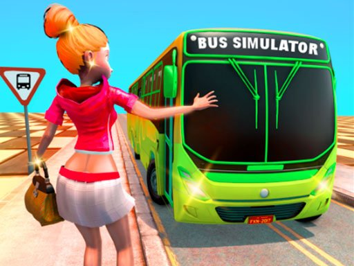 Play Passenger Bus Taxi Driving Simulator Game