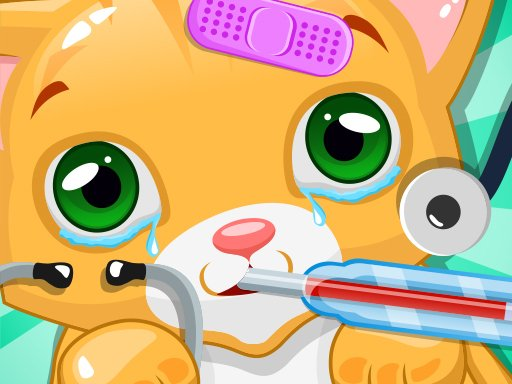 Play Kitty Doctor Game