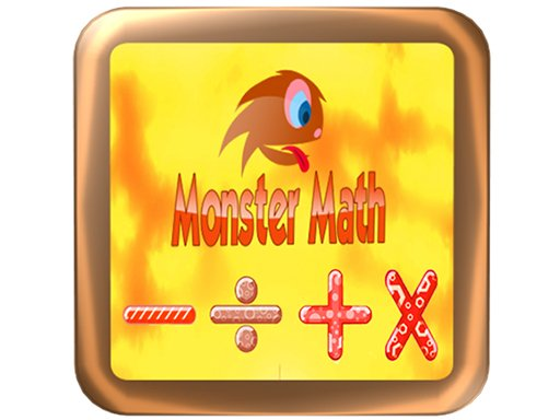 Play Monster math: addition, multiplication, division Game