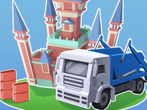 Play Build Castle 3D Game