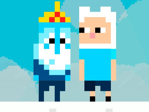 Play Time of Adventure : Ice King Game