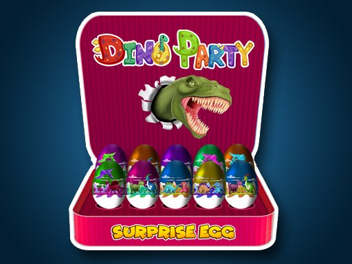 Play Surprise Egg: Dino Party Game
