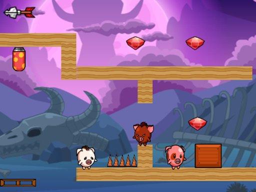 Play Pig Bros Adventure Game