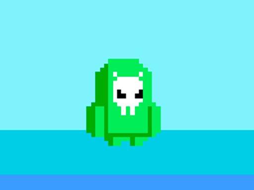 Play Fall Guys: Green Alien Game