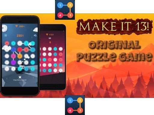 Play Make it 13! Game