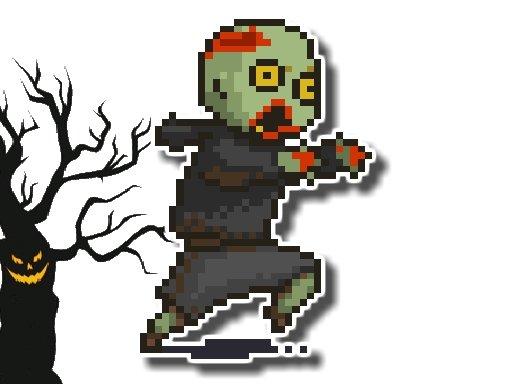 Play Halloween Running Adventure Game