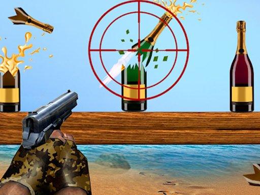Play Sniper Bottle Shooting Expert Game