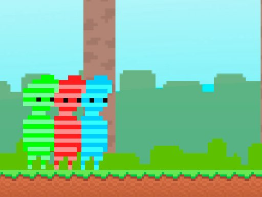 Play Red And Green : Candy Forest Game