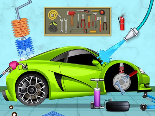 Play Cars Wash Game