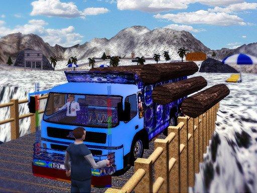 Play Cargo Truck Transport Simulator  2020 Game