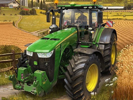 Play Real Tractor Farming Simulator Game