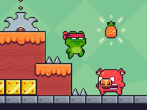 Play Funny Pixel Adventure Game