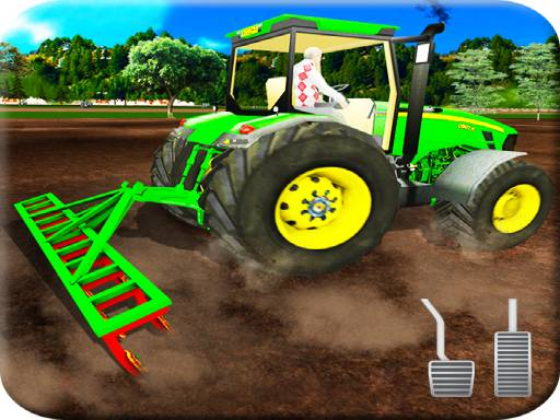 Play Tractor Farming Simulation Game