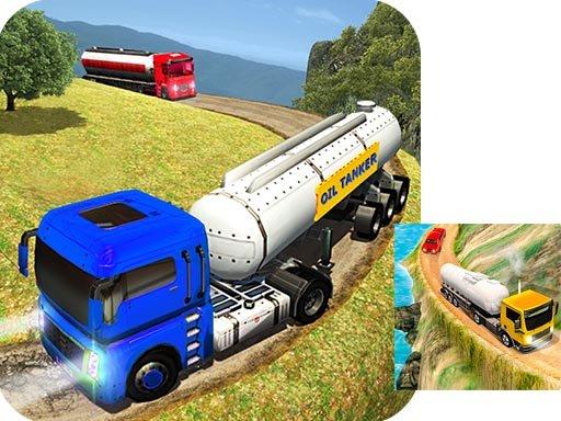 Play Oil Tanker Truck Game