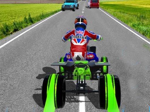 Play ATV Quad Bike Traffic Rider Game
