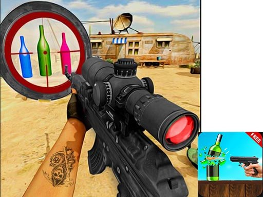 Play Ultimate Bottle Shooting Game