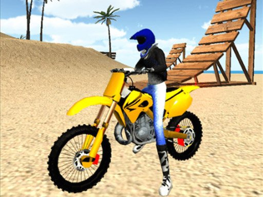 Play Beach Bike Stunt Game