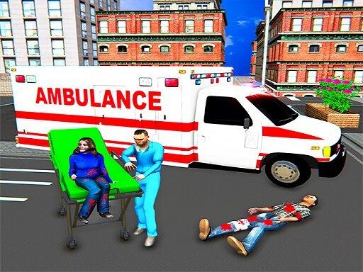 Play City Ambulance Rescue Simulator Game