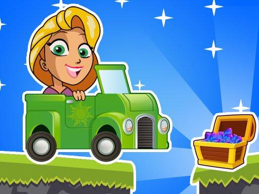 Play Princess Rapunzel Racing Adventure Game