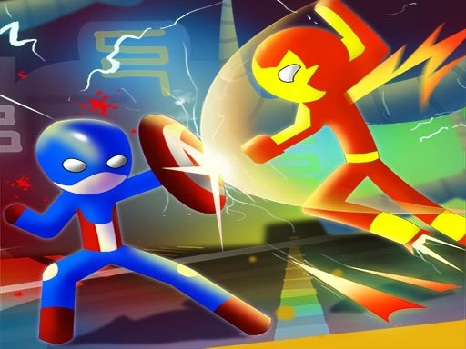Play Super Stickman Heroes Fight Game