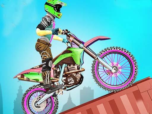 Play Bike Stunt Racing 3D Game