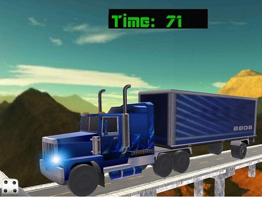 Play 18 Wheeler Impossible Stunt Game