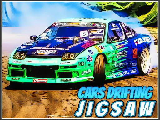 Play Cars Drifting Jigsaw Game