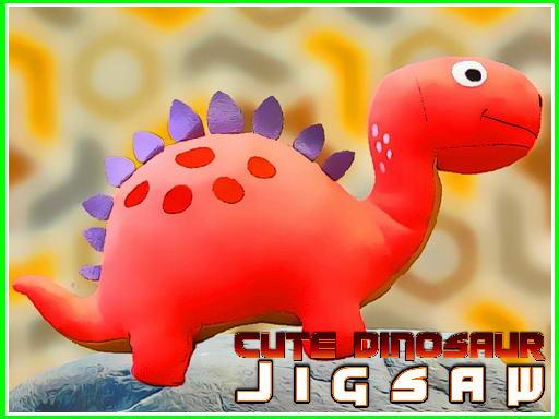 Play Cute Dinosaur Jigsaw Game