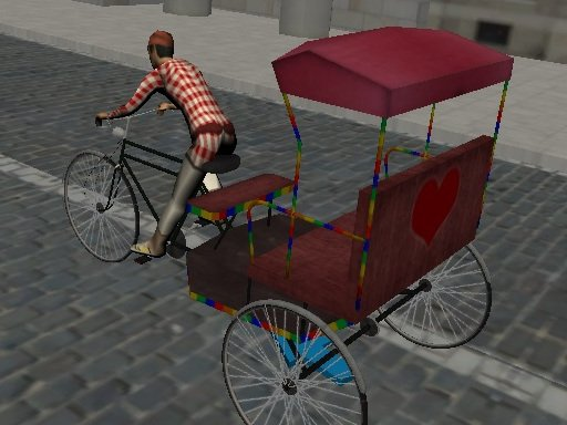 Play Rickshaw Driver Game