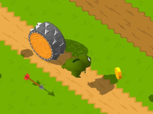 Play Frogger Game