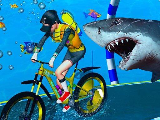 Play Underwater Bicycle Racing Game