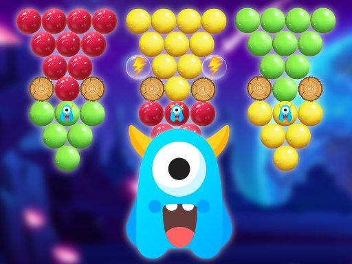 Play Magical Bubble Shooter Game
