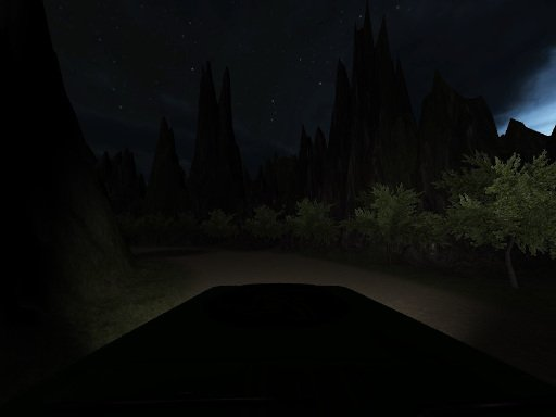 Play Horror Jungle Drive Game