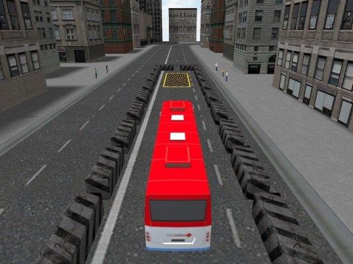 Play Bus Parking Game