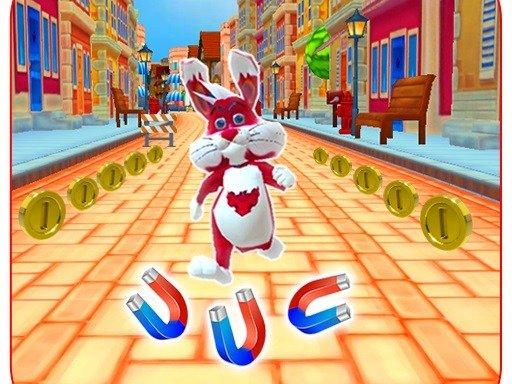 Play Subway Bunny Run Rush Rabbit Game